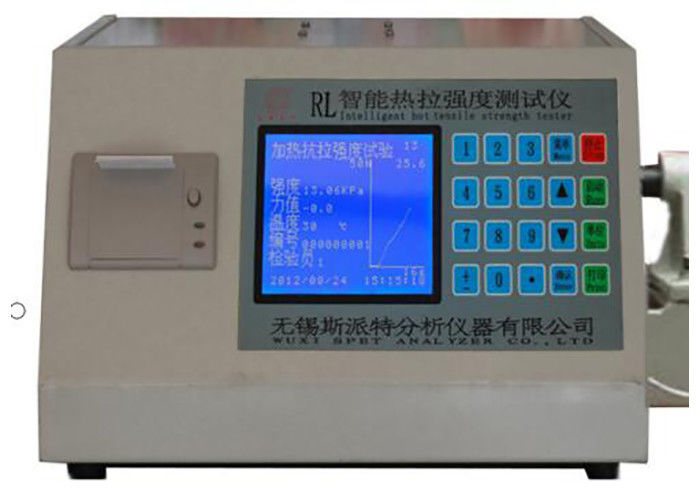 Automatic Temperature Control Sand Strength Testing Machine Colored LED Display